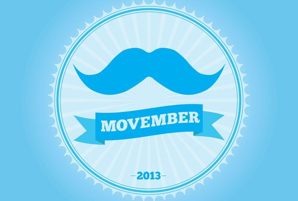 Movember: por que deixar seu bigode crescer em novembro?